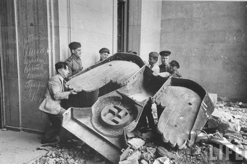 фото апреле 1945 берлин в