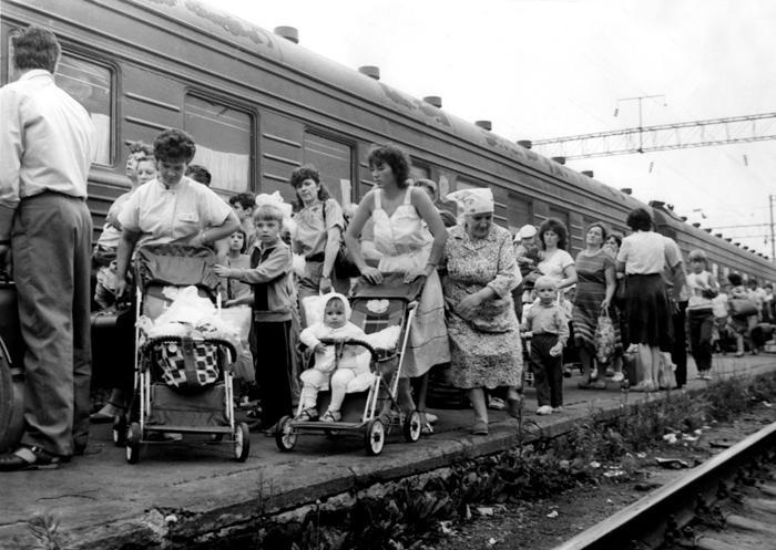 33. Евакуація дітей із Києва