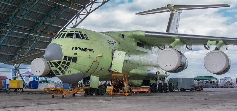 2.Ил-476 (Ил-76МД-90А)
