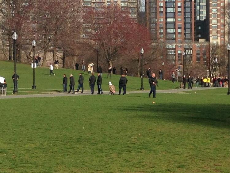10.Задержание в парке Boston Common