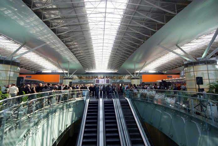 Аэропорт Борисполь. Терминал D, построенный на вырост. УНИАН