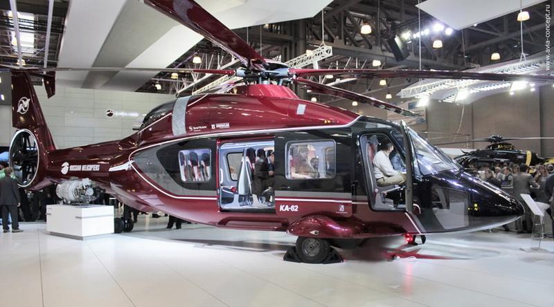 1.Скоростной многоцелевой вертолет Ка-62