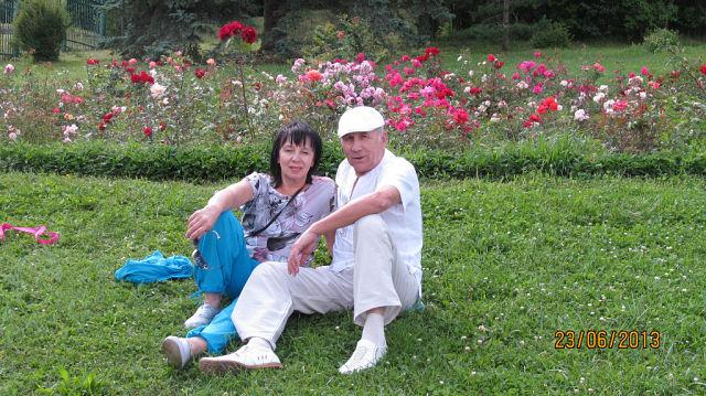 17.Супруги Максаковы в Кисловодске