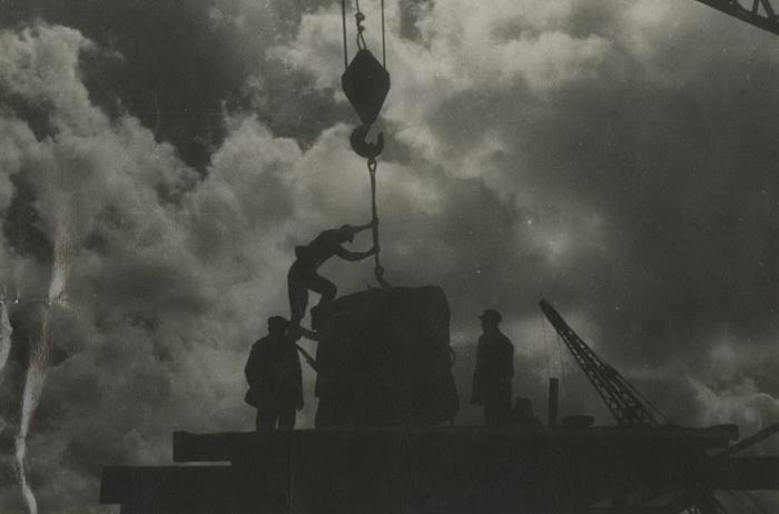Подача бетона. 1930 - 37 г.