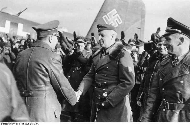 Гитлер в Запорожье