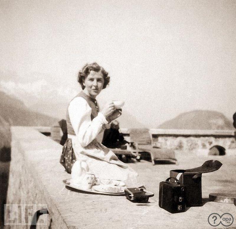 1942 год. Фото из архива Браун
