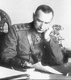 2.адмирал А. В. Колчак за рабочим столом, официальная фотография 1919 г