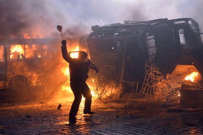 UKRAINE-EU-RUSSIA-UNREST-POLITICS-POLICE