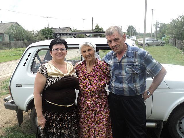7=С сыном Владимиром и дочкой Ириной