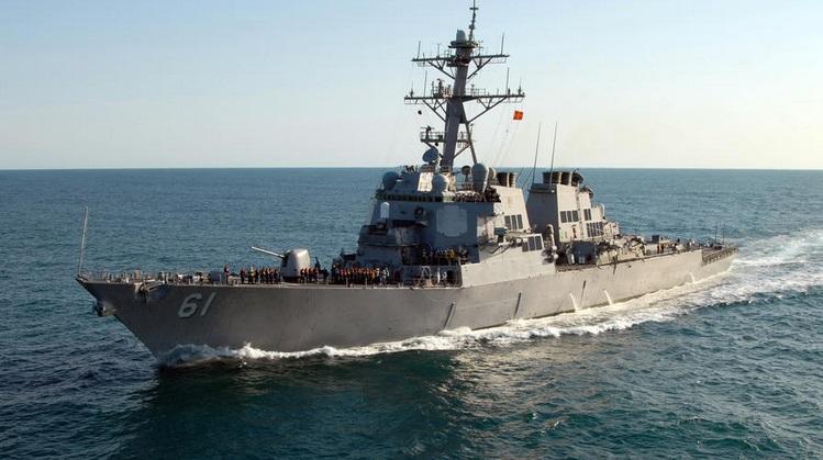 Ракетный эсминец USS Ramage (DDG-61)