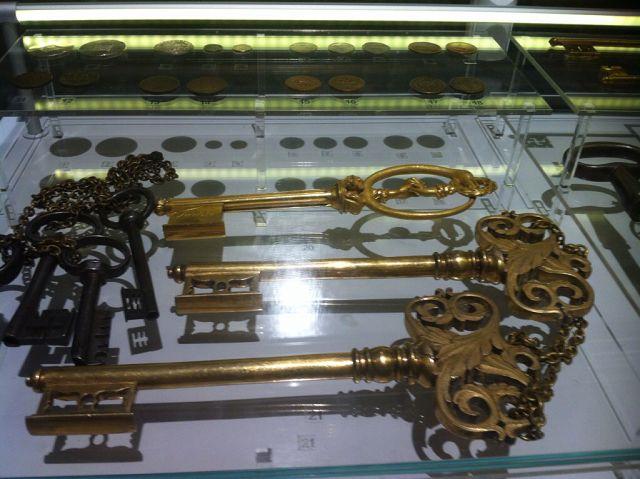 Ключи крепостные - трофеи русской армии