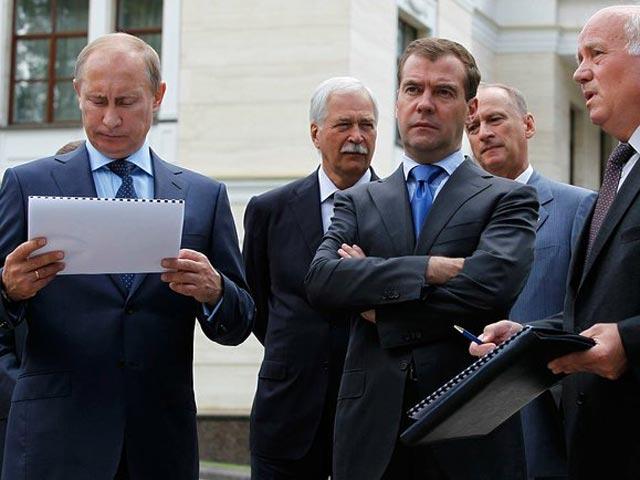 ПУТИН: ну меня в этих санкциях нет