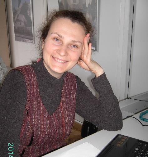 Ирина Демчук, библиотекарь областной библиотеки