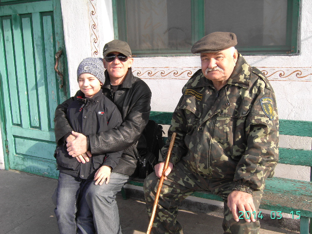 Владимир Шовкун и Николай Буханистый