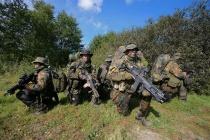 SEKM Soldaten während einer Anlandungsübung in der Nähe vonEckernförde