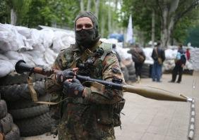 Обстановка в Славянске после спецоперации Украинской армии