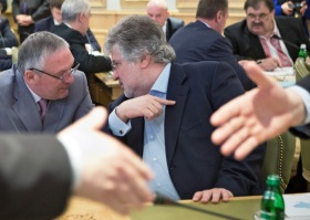 Коломойский-запорожскому губернатору Баранову: похоже, мы вылетаем