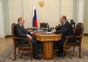 Путин наставляет главу  Внешэкономбанка