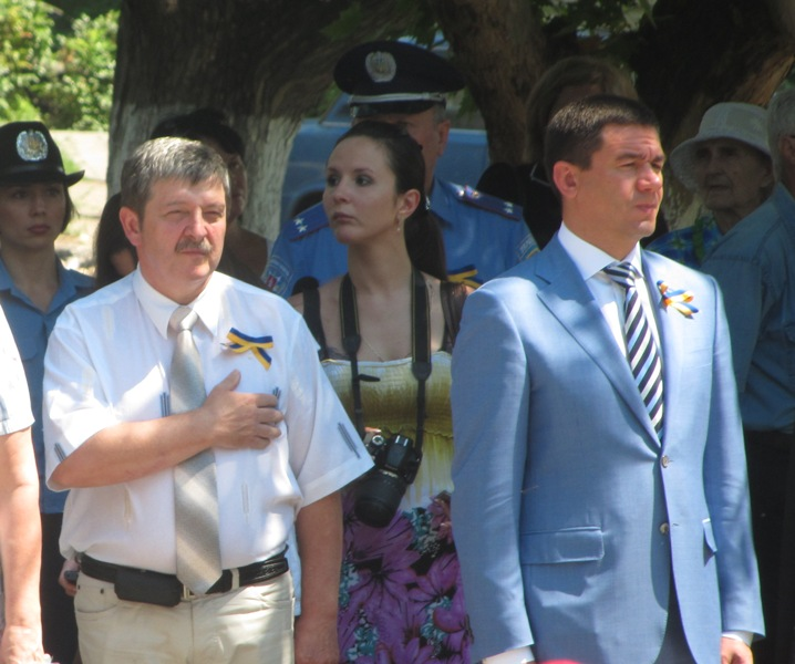 Прокурор Запорожской области Шацкий держится за сердце