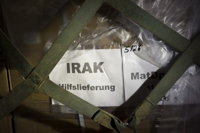 GERMANY-IRAQ-UNREST-ARMS-AID
