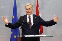 Austrian Chancellor Werner Faymann addresses a news conference after an European Union leaders summit in Brussels