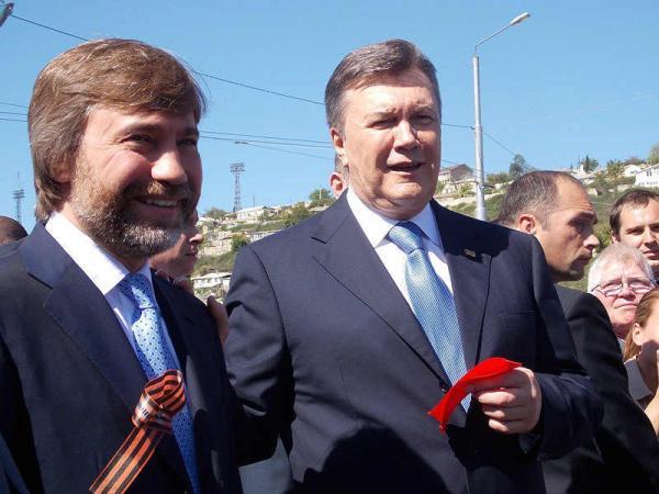 Новинский и Янукович