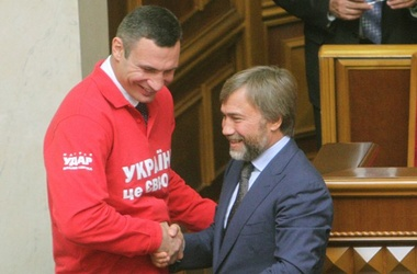 Кличко и Новиский