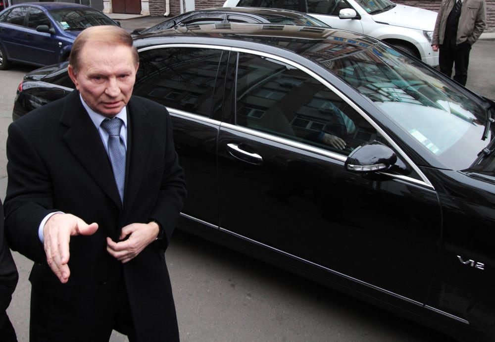 Экс-президент Украины Леонид Кучма явился по вызову в генеральную прокуратуру