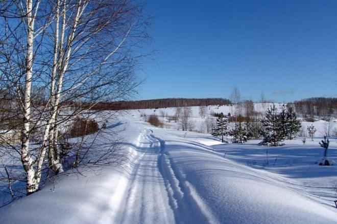 000.Зимняя дорога
