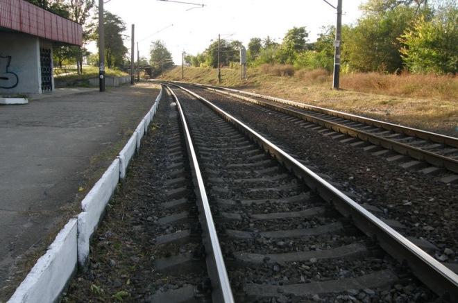 Тот самый участок железной дороги. Фото ВВП