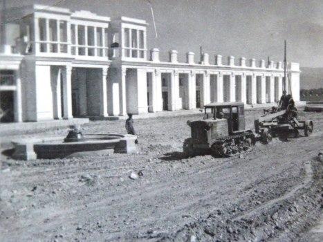 Город Сталинабад. 1953 год