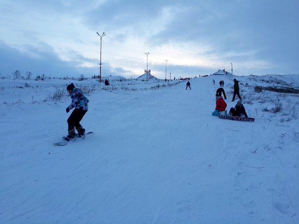 Горно-лыжный склон. г. Урюпинск