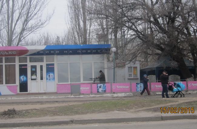 Пивной бар у СШ №96 на ул. М.Чуйкова