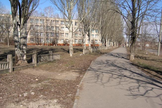 Школа №87 - место для выгула собак