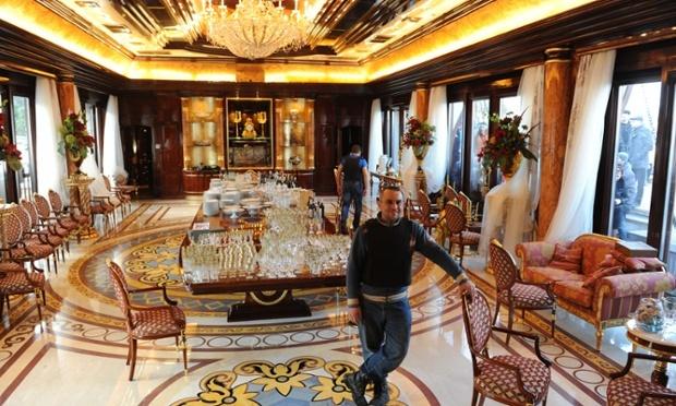 Резиденция Януковича в Межигорье. Фото  с сайта газеты