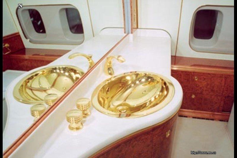 Интерьер самолета Путина