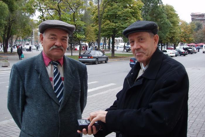Владимир Шовкун (слева) И Николай Зубашенко