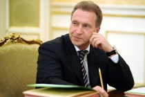ITAR-TASS: MOSCOW, RUSSIA. APRIL 19, 2012. Russia's first deputy prime minister Igor Shuvalov at a meeting of the Russian government's presidium. (Photo ITAR-TASS / Alexandra Mudrats) Россия. Москва. 19 апреля. Первый вице-премьер РФ Игорь Шувалов на заседании президиума правительства РФ. Фото ИТАР-ТАСС/ Александра Мудрац