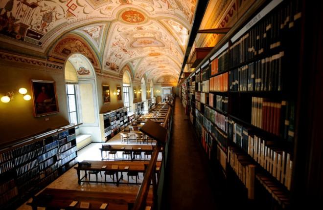 VATICAN-APOSTOLIC-LIBRARY