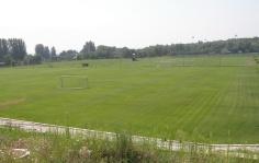 Футбольные поля на Великом Лугу. Фото ВВП