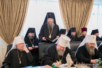 6.Заседание Священного Синода УПЦ 23 декабря 2014 г.
