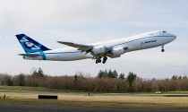 747-8F First Flight Take Off, Inflight and LandingK64877-01