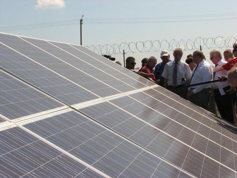 5.Токмакская  солнечная  электростанция