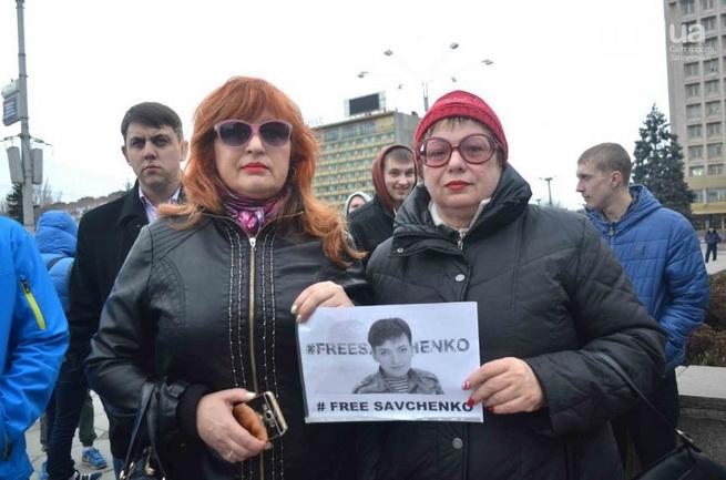 Журналисты в поддержку Савченко