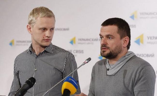Виталий Шабунин и Дмитрий Шерембей