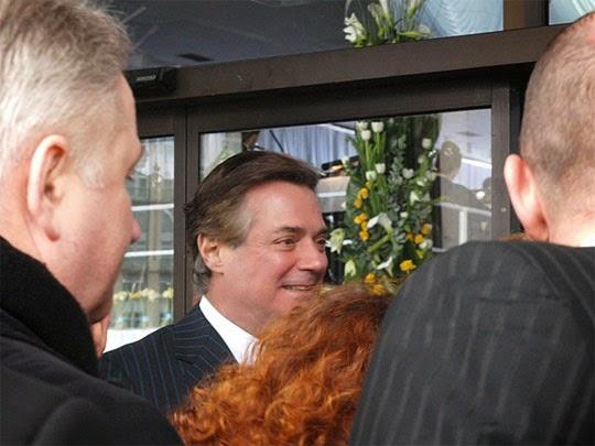 Пол Манафорт на инаугурации Виктора Януковича