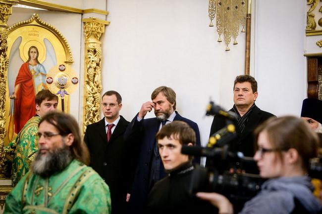 Новинский в Запорожье с гендиректором Шурмой и мэром Буряком