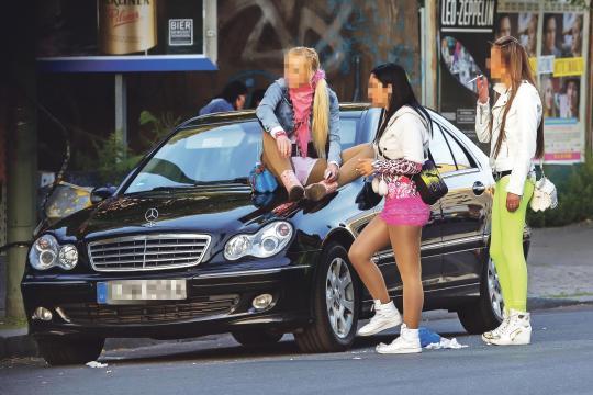 Проститутки на улицах берлина