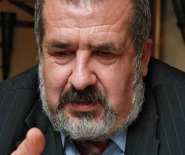 ЧУБАРОВ РЕФАТ глава меджлиса крымских татар