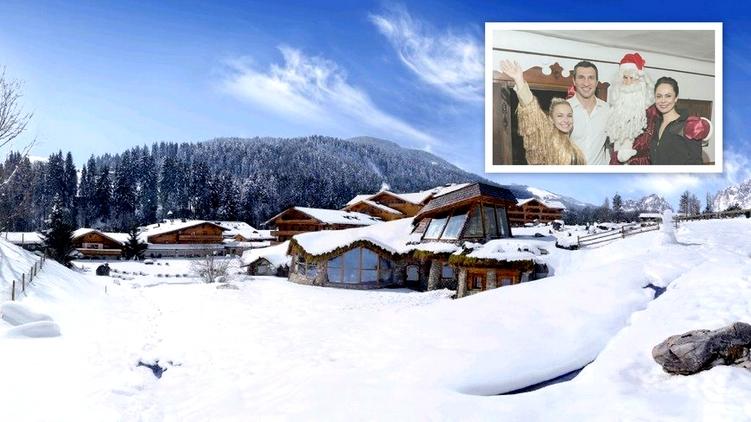 Кличко встречали Новый год в гостинице Bio-Hotel Stanglwirt в Кицбюэльских Альпах (Австрия), фото: facebook.com